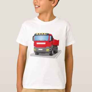 red building sites truck T-Shirt