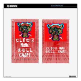 RED Bull : Cloud9 BullCraft Kindle Fire Skin