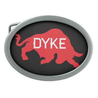 Red Bull Dyke Belt Buckle