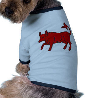Red Bull from the Side Doggie T Shirt