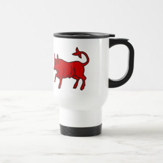 Red Bull from the Side Travel Mug