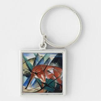 Red Bull (gouache on paper) Keychain