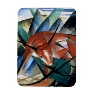 Red Bull (gouache on paper) Magnets