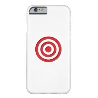 Red Bullseye Barely There iPhone 6 Case