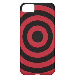Red Bullseye iPhone 5C Case