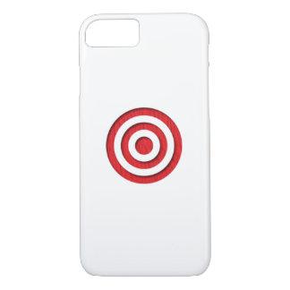 Red Bullseye iPhone 7 Case