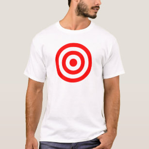 a617864c Bullseye T-Shirts - T-Shirt Design & Printing | Zazzle