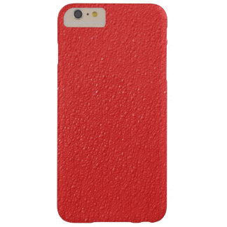 Red Bumpy Pattern Barely There iPhone 6 Plus Case