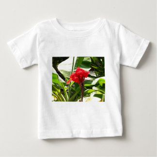 Red Bunch FLOWERS Lovers GIFTS Template Resellers Baby T-Shirt