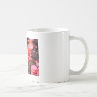Red Bunch of Flowers Coffee Mug