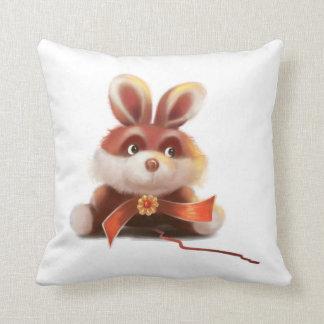 red bunny American MoJo Pillows