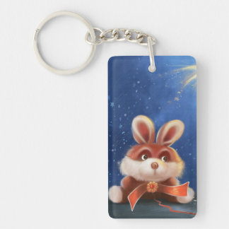 red bunny Key Chain