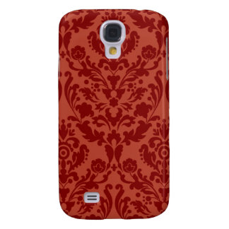 Red Burgundy Damask iPhone 3G/3GS Case