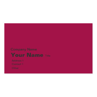 red burgundy earth map business card