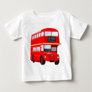 Red Bus Baby T-Shirt