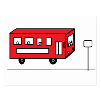Red Bus Postcard