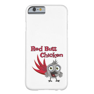 Red Butt Chicken African Grey Parrot Barely There iPhone 6 Case