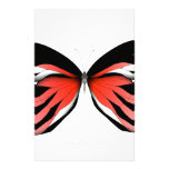 Red Butterfly 2 by tony fernandes Stationery