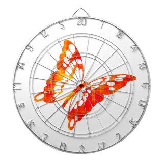 Red Butterfly Dart Boards