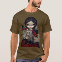 Red Butterfly Ferrets Shirt gothic fairy ferret