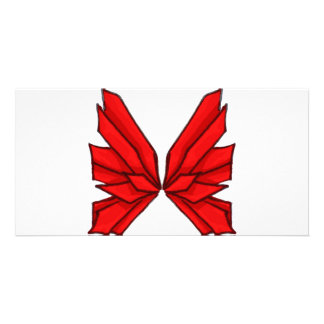 Red Butterfly III Card