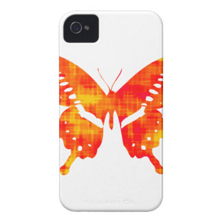 Red Butterfly iPhone 4 Case