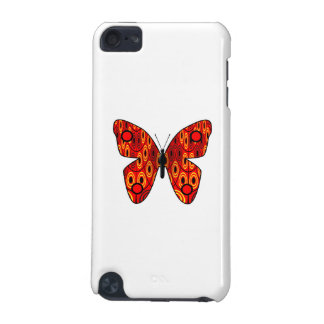 Red butterfly iPod touch (5th generation) case