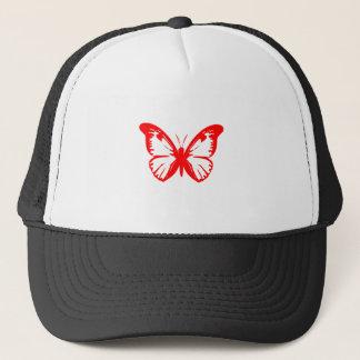 Red Butterfly Trucker Hat