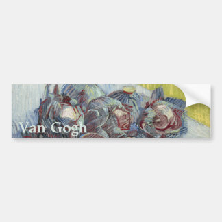 Red Cabbages and Onions by Vincent Van Gogh Bumper Sticker