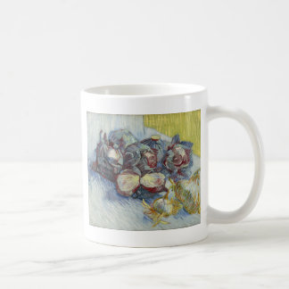 Red Cabbages and Onions by Vincent Van Gogh Coffee Mug