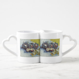 Red Cabbages and Onions by Vincent Van Gogh Coffee Mug Set