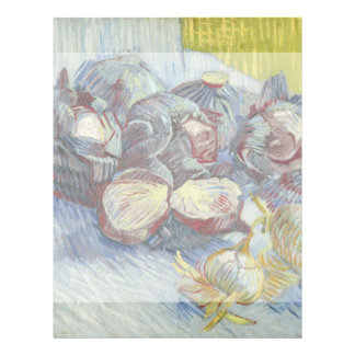 Red Cabbages and Onions by Vincent Van Gogh Flyer