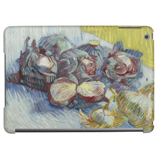Red Cabbages and Onions by Vincent Van Gogh iPad Air Cover
