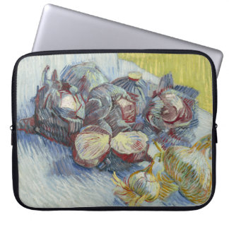 Red Cabbages and Onions by Vincent Van Gogh Laptop Sleeve