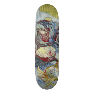 Red Cabbages and Onions by Vincent Van Gogh Skateboard