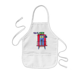 Red Caboose Apron
