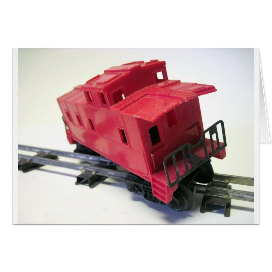 Red Caboose Card