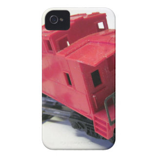 Red Caboose iPhone 4 Cover