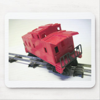 Red Caboose Mouse Pad