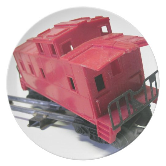 Red Caboose Plate