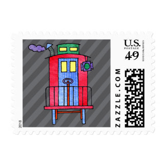 Red Caboose Postage