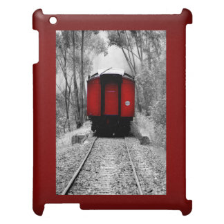 Red Caboose Victorian Steam Train Cover For The iPad