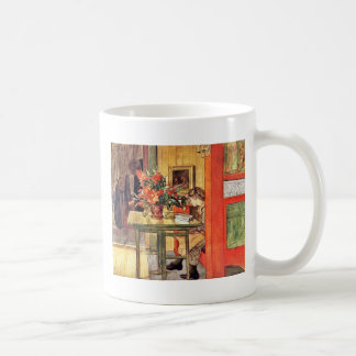Red Cactus and Lisbeth Reading Coffee Mug