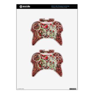 Red cactus flowers, Utah, USA Xbox 360 Controller Skins