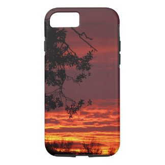Red California Sunset Phone Case