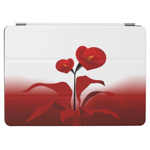 Red Calla iPad Air Cover