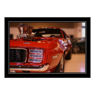 RED CAMARO POSTERS