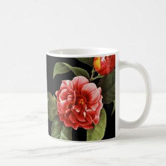 Red Camellia, 1833 Coffee Mug