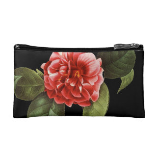 Red Camellia, 1833 Cosmetic Bag
