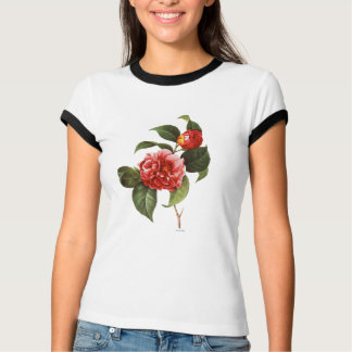 Red Camellia, 1833 T-shirt